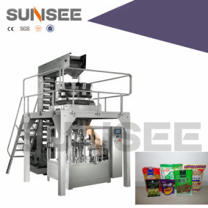 Rotary Weighing & Packaging Line for Solid pictures & photos