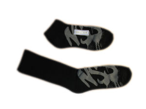 Fashion Men Women Sports Socks with Black Cotton (fss-05) pictures & photos