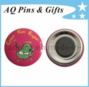 Promotion Kids Tin Button Badge with Magnet (button badge-01) pictures & photos