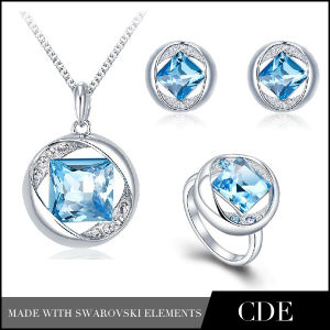 Fashion Jewelry Set with Austrian Crystal (P0338 E0368 R0247)