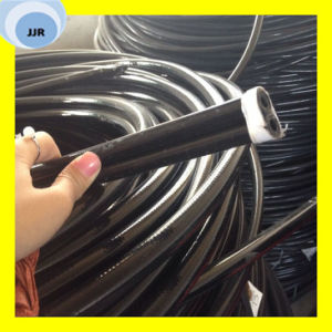 Excellent Medium Pressure Synthetic Fibre Braided Rubber Resin Hose SAE 100 R7/En 855 pictures & photos