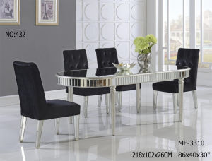 2017 Round Shape Dining Table pictures & photos