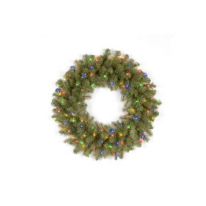 The Cheerful Douglas Fir Christmas Wreath with Its 50 Multi Color LED Lights (MY310.256.00) pictures & photos