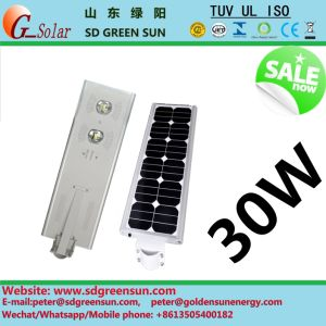 30W All in One Integerated Solar Outdoor Light pictures & photos