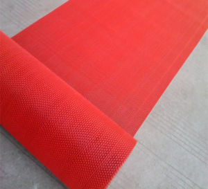 PVC Plastic Vinyl Mesh Z S Shape Door Flooring Floor Roll Runner Mats pictures & photos