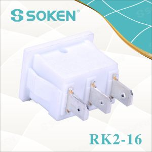 Sokne Rk2-16 1X3 on off on Rocker Switch pictures & photos