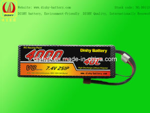 Li-Po RC Battery 7.4V 4000mAh 40c RC Helicopter Battery