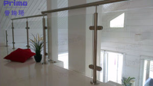 Glass Balcony Balustrade Balcony Staircase Glass Railing pictures & photos