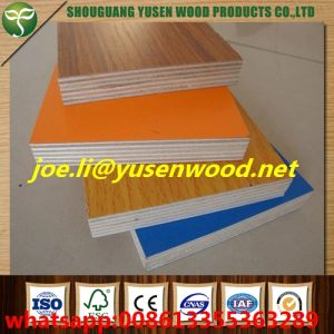 Waterproof E1 Glue Hardwood Core Melamine Faced Plywood pictures & photos