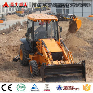 New Backhoe Loader Price Construction Machinery 7ton Wheel Loader pictures & photos