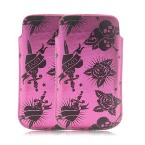 Flower Slim up Universal Mobile Pouch Case for iPhone & Samsung