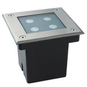 Made in China LED Recessed Uplighter 4W LED Inground Uplighter Square (SM-4W-MDD10)