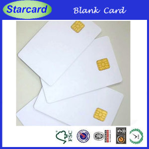 Buy Blank Contact IC Cards with Chip Model At24c01 From China