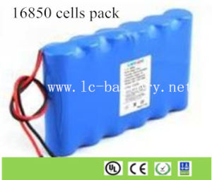 Lithium Battery Pack >> China Rechargeable Battery Pack 3 7v 18 5v 18650 Lithium Ion Battery