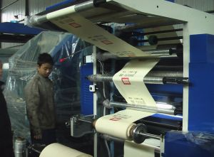 PP Plastic Film Printing Machine (CE) pictures & photos