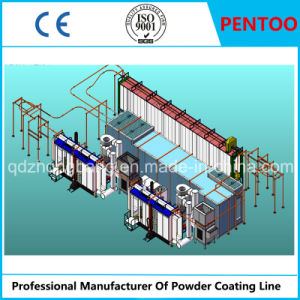 Powder Coating Line for Spray Aluminum Sections with Good Quality pictures & photos