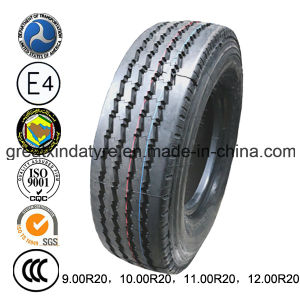 Four Line Pattern, Truck Tire with Tube and Flap pictures & photos