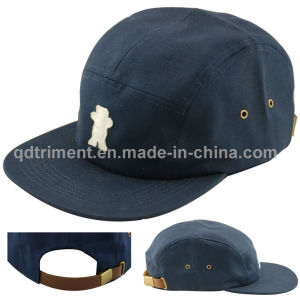 Felt Applique Metal Buckle Grommet Camp Cap Hat (TMFL6653) pictures & photos
