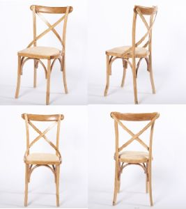 High Quality Wooden Cross Back Chair for Sale pictures & photos