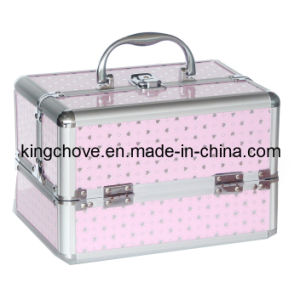 Fashion Simple Cosmetic Box with Dots (KCC63)