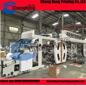 PP Woven Flexographic Printing Machine pictures & photos