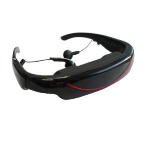 72inch Wide Screen Video Glasses with 4G Flash and AV in (VG-320B)
