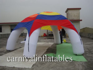 Tradeshow/ Promotional Oxford Fabric Inflatable Spider Tent