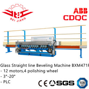 Glass Straight Line Bevelling Machine (BXM471P) pictures & photos