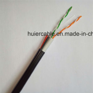 2 Pairs Cat5e Cable with Power Wires (2DC) and Dual Jacket PVC+PE