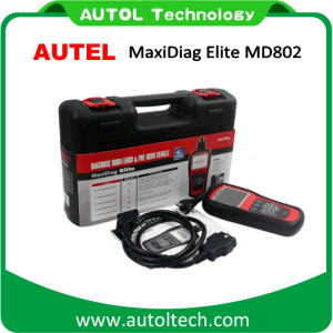 Autel Maxidiag Elite Md802 4 System Md701+Md702+Md703+Md704 Diagnostic Tool Engine Transmission ABS Airbag Epb Oil Reset Scanner pictures & photos