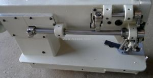 Heavy Duty Top and Bottom Feed Sewing Machine pictures & photos