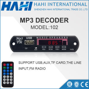 MP3 Mini Decorder Board for Memory USB/TF Card-102