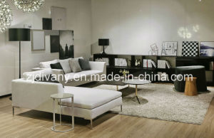 Home Sofa Furniture Living Room Fabric Sofa Set (D-71-C & D-71-H) pictures & photos