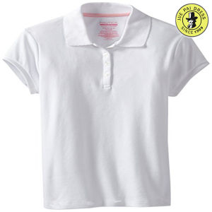 4662676d9 China White Primary School Uniform Polo Shirt - China School Polo ...