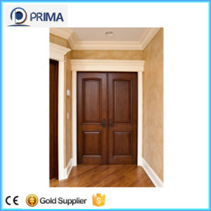 Latest Design HDF Solid Wood Interior House Room Door pictures & photos