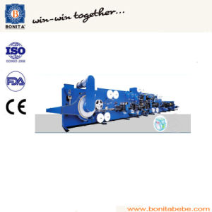 Softtextile Baby Diaper Making Machine