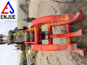 Irregular Scrap Grapple Hydraulic Excavator Grab Bucket for Log pictures & photos