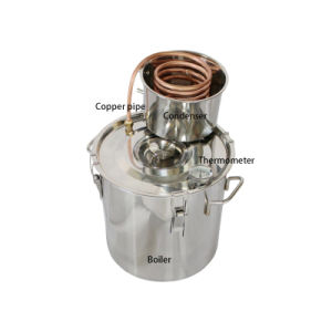 18L 5gal Normal Style Home Use Grappa Fractionating Kit