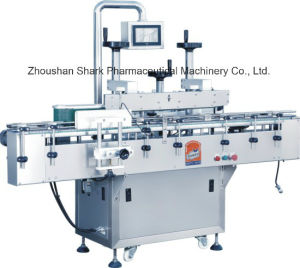 Automatic High-Speed Machinery Two Sides Flat Bottle Labeling Machine