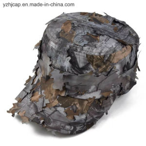 Custom Embroidery Cap Burshed Cotton Promotional Sports Embroidery Camo Hunt Cap pictures & photos