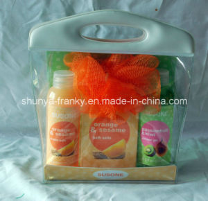 Reusable PVC Bag for Packing Liquid Shampoo and Body Wash pictures & photos