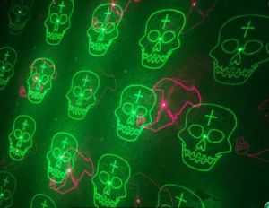 Halloween Twelve Pattern Red + Green Moving Garden Laser pictures & photos