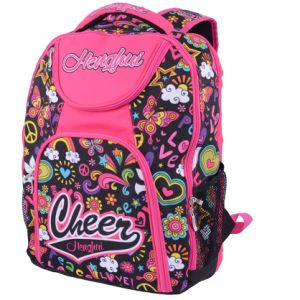 Customize For School Red Backpacks Book Bags