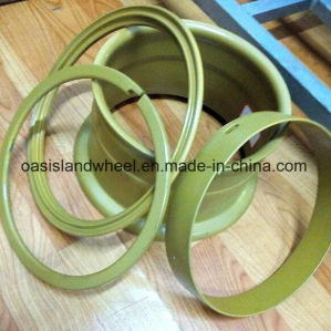 Industrial Forklift 4-Piece Wheel Rim (5.00-10) pictures & photos