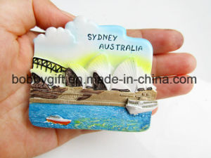 Wholesale Creative Resin Building Craft Magnet for Fridge pictures & photos