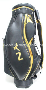 PU Leather Material Golf Caddy Bag
