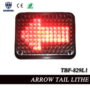 Red LED Arrow Tail Warning Light for Trucks Surface Mounting (TBF-829L1) pictures & photos