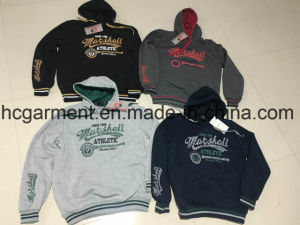 Stock Clothing, Cheaper Hoodie for Man, Man′s Sports Wear