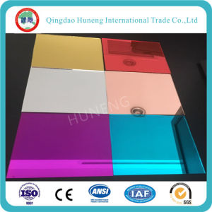 1mm Tinted Colored Sheet Aluminum Mirror 610X930mm