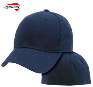 9369f9acf104e China Navy Blue Fitted Plain Solid Blank Baseball Ball Caps - China ...
